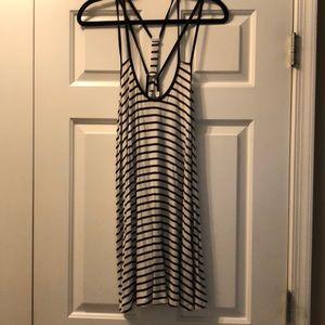 Xenia Australia Boutique Blue and White Dress